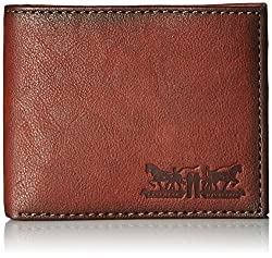 Levis Brown Mens Wallet