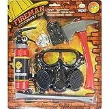Fancy Dress Accessories Set de accesorios de bombero para niños