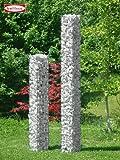 Bellissa Steinsäule 2tlg. eckig 20x20x125 cm