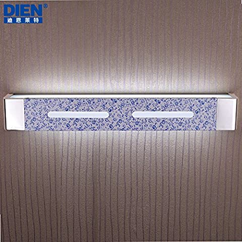 BBSLT Pétalos jardín moderno minimalista espejo luces Espejo armario vestidor baño dormitorio tocador lámpara lámpara de pared LED 378/580 * 80 mm , double headed -led white