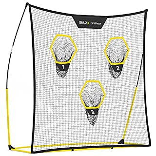 SKLZ Quickster QB Football Trainer Net W/Cible. Ultra-Portable, Configuration Rapide. 17,8 x 17,8 cm.