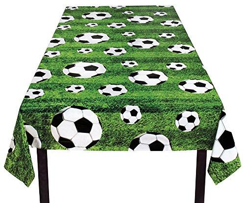 cke, Fußball, Mehrfarbig, 120 x 180 cm (Becher Kostüm)
