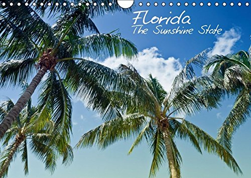 Florida - The Sunshine State (Wandkalender 2016 DIN A4 quer): Sonne, Strand, Palmen & ruhige Orte - Urlaubsfeeling in Vollendung! (Monatskalender, 14 Seiten ) (CALVENDO Orte) -