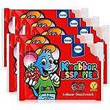 Küchle Knabber Esspapier rot Erdbeer Geschmack 25g Essoblaten (5er Pack)