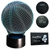 InnoWill Basketball LED Lampe USB und Batteriebetriebene RGB 7Colors