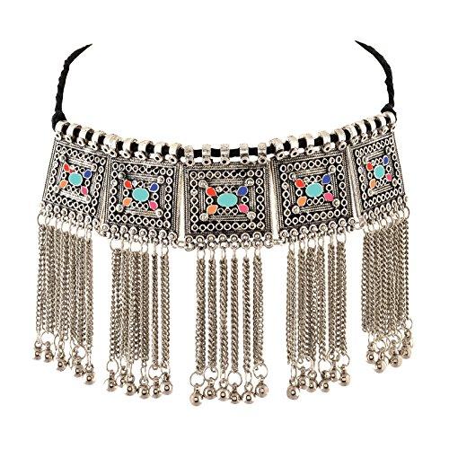 Zephyrr Silver Metal Necklace For Women