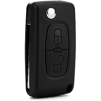 Lage A19 Replacement 2 Button Case for Citroen C2 C3 Berlingo Remote