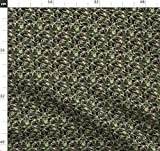 Schuppen, Digital, Tarnfarbe, Stoffe - Individuell Bedruckt