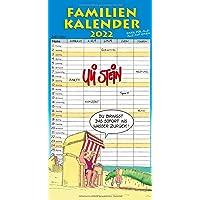 Uli Stein – Familienkalender 2022: Familienplaner mit 5 Spalten