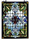 'Fine Art Beleuchtung Tiffany Fenster Panel, 20von 74cm, 480Glas Schnitte