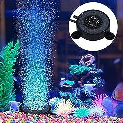 Yosoo Luce Lampada acquario LED Sommergibile Luce per la cerimonia nuziale partito Natale Piscina Fish Tank decorazione stagno vasca fontana prato,6 LED Multi Color