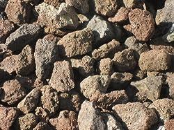 25 kg Der Grill Lava Steine Klassiker 32-56 mm - Gasgrill Elektrogrill Lavastein Lavasteine Kies Kiesel Aquarium - Lieferung KOSTENLOS