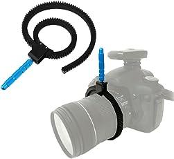 Flexible Zoom Focusing Adjustable Rubber Gear Ring Belt Hand for DSLR Camera