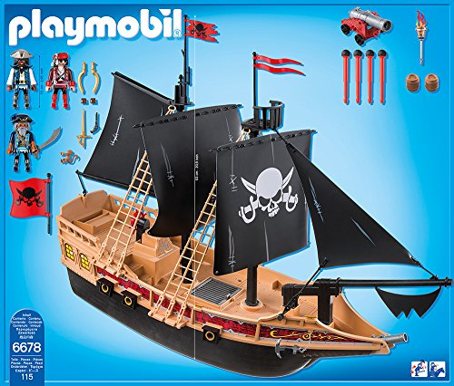 PLAYMOBIL 6678 – Piraten-Kampfschiff - 3