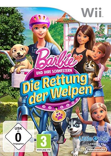 Barbie und ihre Schwestern: Die Rettung der Welpen - [Nintendo Wii] Barbie Wii