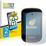 BROTECT 2x Schermbeschermer compatibel met Garmin Edge 530 / Edge 830 Screen protector transparant