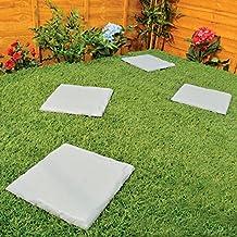 juego de losas cuadradas de plstico para patio o jardn