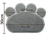 Pinkdose® 03, As Pictures: Pet Doormat Petmate Kitty Cat Litter Box Mat Toilet Rug Litter Mat Carpet PVC Dog Dish Bowl Food Water Tray Keep Floor CLE
