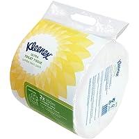 Papier Toilette KLEENEX* ULTRA Jumbo 8573 – 12 rouleaux de 150 m de feuilles blanches 1 pli