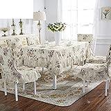 jardín dulce impresión funda/Acolchado impermeable silla cojín respaldo-amarillo