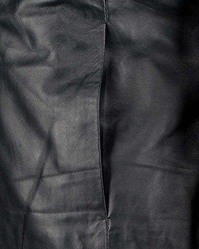 JCC Lederjacke, Damen T2 Echtleder Lammleder Baumwolle Polyester black green 36-52 Black