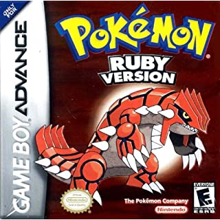 Pokémon Ruby Version (GBA)