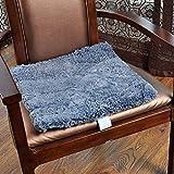 HhGold Präsident der Luxus-Sofa Kissen Kissen Kissen Dicke Matte von Office komfortable weiche grau-55 X 55 cm (22 x 22 Zoll) (Farbe : -, Größe : -)