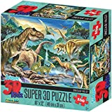 Howard Robinson hr10806 Super 3d dinosaurio Valley Puzzle (Set)