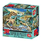 Howard Robinson hr10806 Super 3D Dinosaurier Valley Puzzle (150-tlg.)