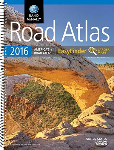 ad Atlas EasyFinder (Rand Mcnally Road Atlas Midsize Easy Finder) ()
