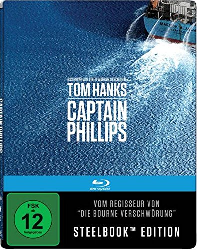CAPTAIN PHILLIPS (Blu-ray Disc, Steelbook)