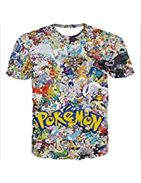 T-shirt Pokemon family
