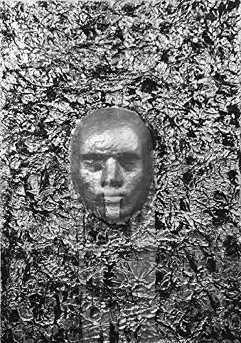 quadro-design-arte-moderna-alluminio-su-tela-maschera-viso-in-rilievo-face-off-70-x-50-x-04-cm
