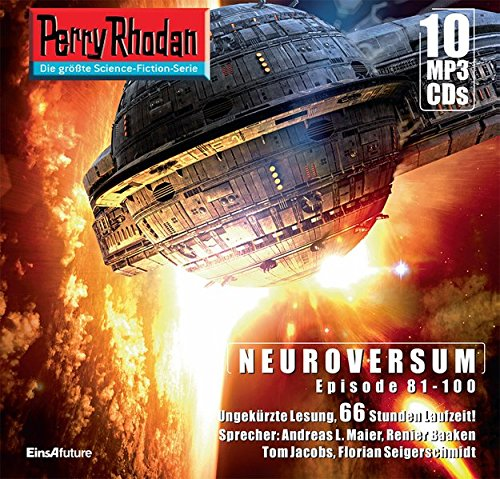 Perry Rhodan Sammelbox Neuroversum-Zyklus 81-100