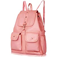 PAGWIN® PU Leather Student Backpack School Bag for Girls Travel Bag Collage Trendy Latest Stylish Girl Shoulder Backpack…