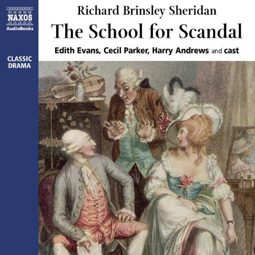 The School for Scandal  Audiolibri