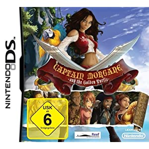 Captain Morgane and the Golden Turtle – [Nintendo DS]