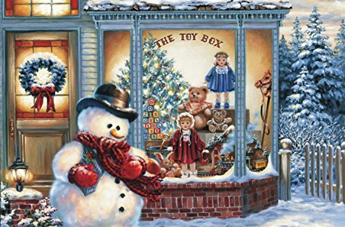 6x Platzdeckchen Weihnachten 28152, rechteckig, Platzmatte, Tischset, Platzdecke -