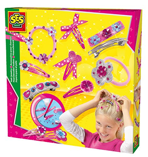 SES Hair Jewellery Set (Multi-Colour)