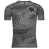Nike Psg Top Manches Courtes Homme, White/Black/Iridescent, FR : S (Taille Fabricant : S)