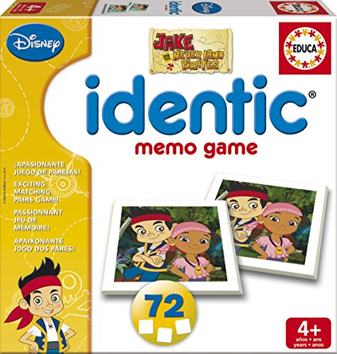 Educa-16026-Identic-Memo-Jake-Legespiel