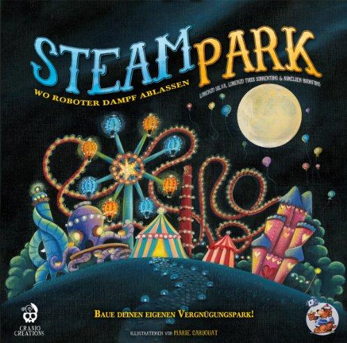 Preisvergleich Produktbild Heidelberger HE538 - Steam Park Brettspiel