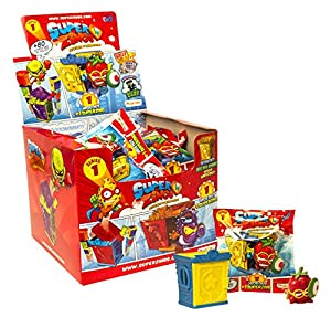 SuperZings- Rivals of Kaboom Caja de Figuras (Magic Box INT Toys SZ1P0202)