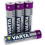 VARTA Lithium AAA (LR03) batteri (4-pack) - idealisk för digitalkamera leksaker GPS-enheter för sport- och utomhusbruk