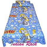 Indian Rack kid's Single Bedsheet with 1...
