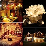 Sunvito Decorative String Lamp 16.4ft/5M USB Interface Waterproof No Hot for Thanksgiving ,Christmas,Halloween,wedding,Party etc (warm white)