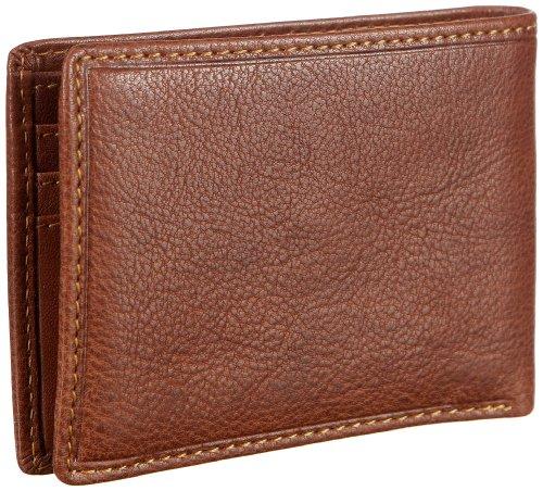 Maitre Dario kl. Portemonnaie (QF) 06/32/87601, Unisex - Erwachsene Portemonnaies 8x11x2 cm (B x H x T) Beige (cognac 20)
