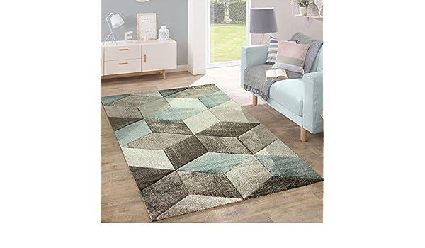 Tappeto Moderno Turchese : Designer tappeto moderno taglio sagomato colori pastello con