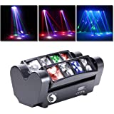 UKing Head DMX512 Led-lichteffect, DJ-partylicht, disco, podiumlicht, met RGBW-verlichting voor bar, Kerstmis, Halloween, par