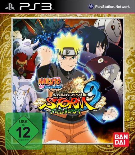 Naruto Shippuden - Ultimate Ninja Storm 3: Full Burst - D1 Edition - [PlayStation - Ps3 Naruto Ultimate Ninja